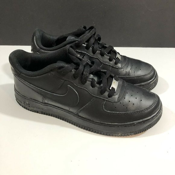 Nike Air Force 1 Low Triple Black 2014 (GS) Youth